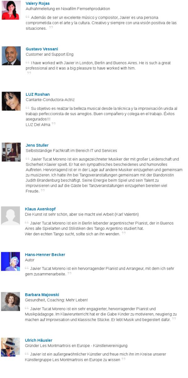 Referencias JTM LinkedIn