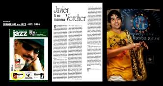 Articulo Prensa 2006 VERCHER Cuadernos de JazzVitoriaFest06