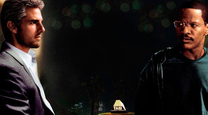 Personajes de la película Collateral mostrados con distinto ángulo horizontal