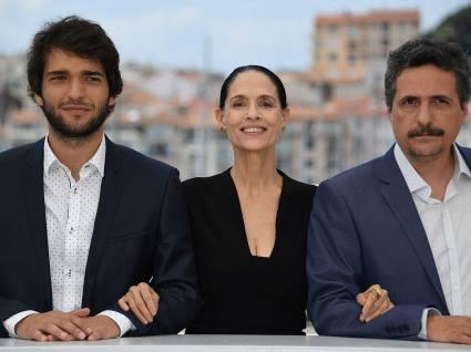 Humberto Carrao, Sonia Braga & Kleber Mendonça Filho
