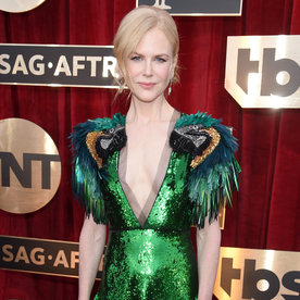 LOS ANGELES, CA - JANUARY 29: Actor Nicole Kidman attends The 23rd Annual Screen Actors Guild Awards at The Shrine Auditorium on January 29, 2017 in Los Angeles, California. 26592_009 (Photo by Dimitrios Kambouris/Getty Images for TNT)