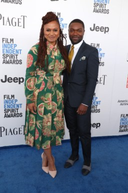 Mandatory Credit: Photo by Chelsea Lauren/Variety/REX/Shutterstock (8434854cf) Ava DuVernay and David Oyelowo 32nd Film Independent Spirit Awards, Arrivals, Santa Monica, Los Angeles, USA - 25 Feb 2017
