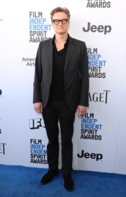 Mandatory Credit: Photo by Chelsea Lauren/Variety/REX/Shutterstock (8434854bf) Colin Firth 32nd Film Independent Spirit Awards, Arrivals, Santa Monica, Los Angeles, USA - 25 Feb 2017
