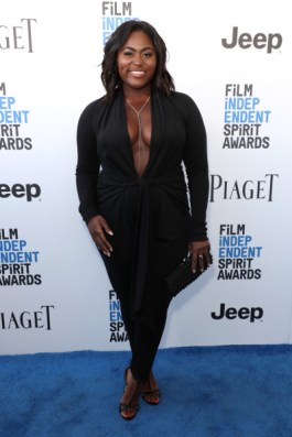 Mandatory Credit: Photo by Chelsea Lauren/Variety/REX/Shutterstock (8434854ay) Danielle Brooks 32nd Film Independent Spirit Awards, Arrivals, Santa Monica, Los Angeles, USA - 25 Feb 2017