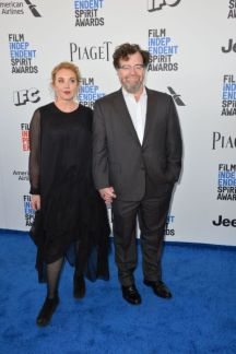 Mandatory Credit: Photo by Paul Smith/Featureflash/Silv/REX/Shutterstock (8435461cx) Kenneth Lonergan & J. Smith-Cameron 2017 Film Independent Spirit Awards, Santa Monica 25 Feb 2017