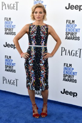 Mandatory Credit: Photo by Rob Latour/Variety/REX/Shutterstock (8434851aj) Lucy Walker 32nd Film Independent Spirit Awards, Arrivals, Santa Monica, Los Angeles, USA - 25 Feb 2017