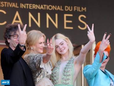 Neil Gaiman, Nicole Kidman, Elle Fanning & Sandy Powell