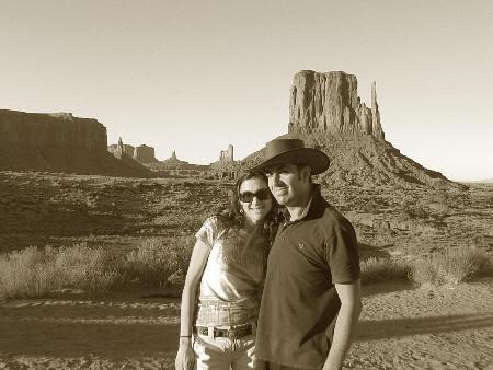 En el oeste americano. Agosto de 2008