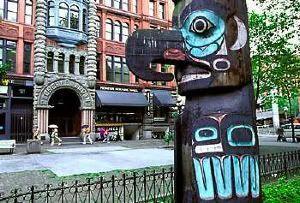 Totem de Pioneer Square