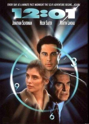 """Cartel de """"12:01 Testigo del Tiempo"""" (""""12:01"""", 1993)"""