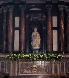 La Madonna de Brujas, de Michelangelo