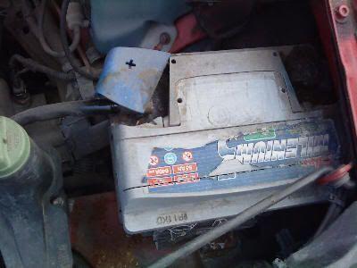 Batería del SEAT Ibiza
