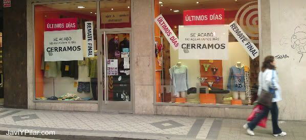 Tienda de la calle López Gómez