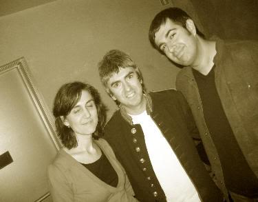 Con Alex Diez, de COOPER, en el Wet Dream 2007 (Valladolid, 5 de mayo de 2007)
