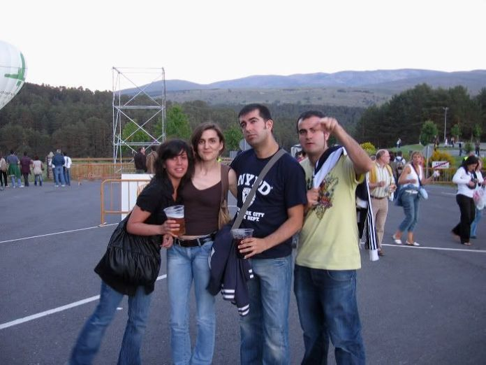 Con Chusa y Miguel ya listos para disfrutar de los conciertos de Ronaldos, Nacha Pop y Pet Shop Boys