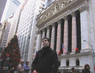 Javi, el hombre fuerte de Wall Street (jeje)