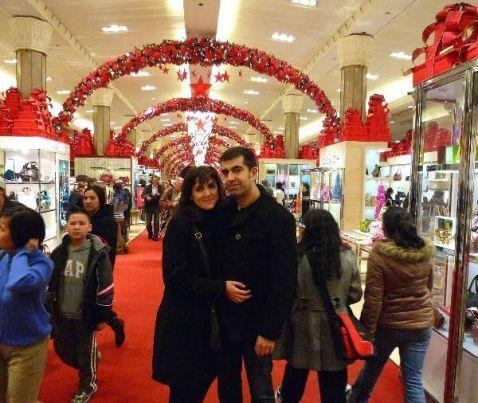 En Macy's, Nueva York