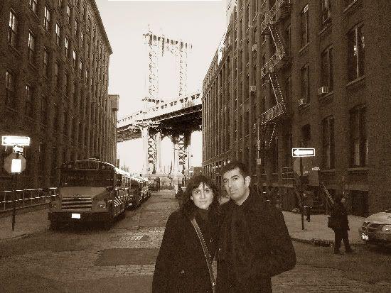 Pilar y Javi: érase una vez en América