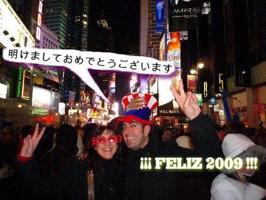 FELIZ 2009 desde Times Square