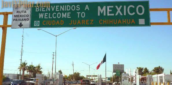 Entrando en Ciudad Juárez. Agosto de 2009