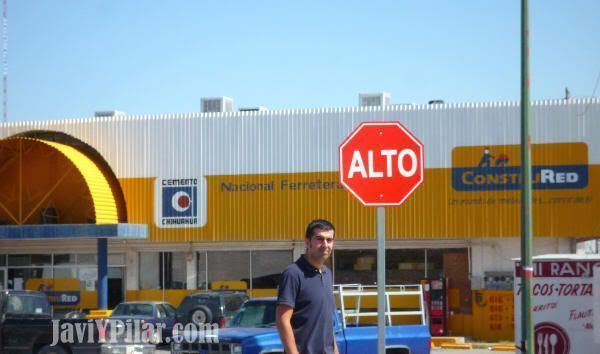 En Ciudad Juárez durante nuestra visita en el verano de 2009