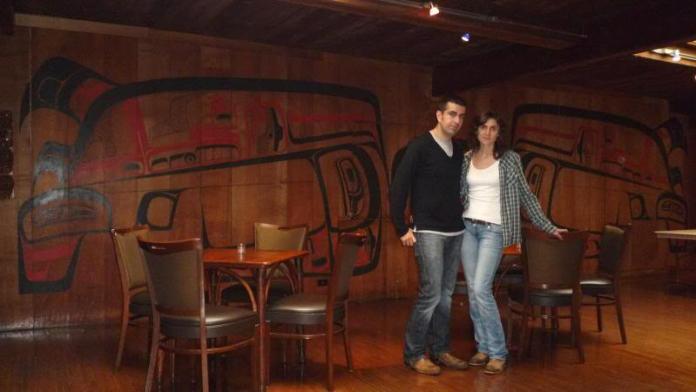 """Nosotros en """"El Gran Norte"""" (Twin Peaks) en 2010"""