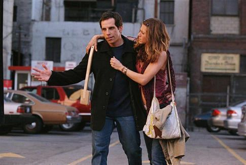 "Ben Stiller y Jennifer Aniston en ""Y Entonces Llegó Ella"" (""Along Came Polly"", 2004)"
