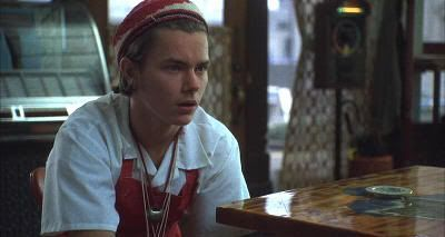 "River Phoenix en ""Te amaré hasta que te mate"" (""I Love You To Death"", 1990)"