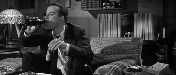 "Jack Lemon en ""El Apartamento"" (""The Apartment""). Billy Wilder, 1960"