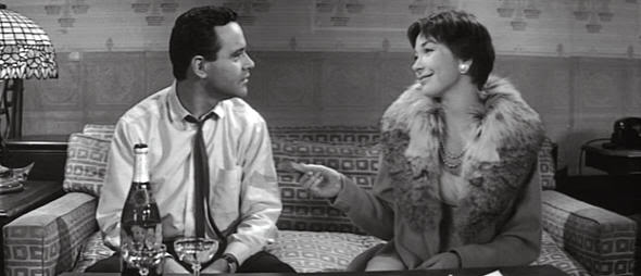 "Jack Lemon y Shirley McLaine en ""El Apartamento"" (""The Apartment""). Billy Wilder, 1960"