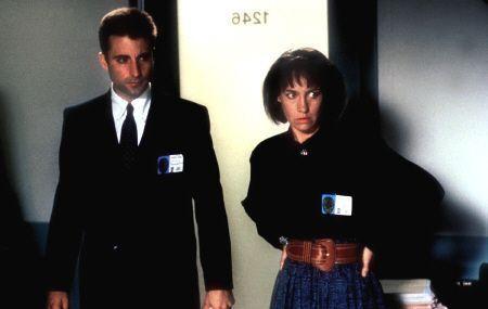 """Andy Garcia y Lauire Metcalf en """"Asuntos Sucios"""" (""""Internal Affairs"""", 1990)"""