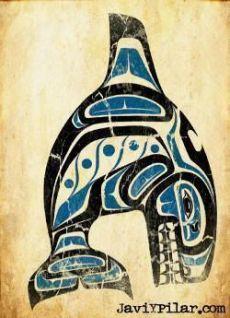 La ballena. Mitología del noroeste de Estados Unidos