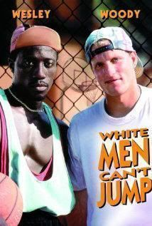 "Cartel de ""Los Blancos no la Saben Meter"" (""White Men Can't Jump"", 1992)"