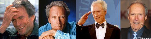 Las edades de Clint Eastwood