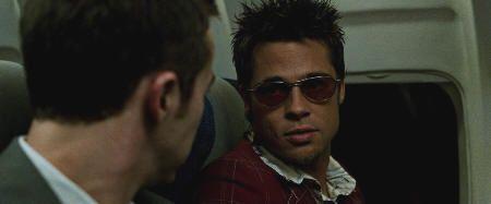 """Brad Pitt en """"El Club de la Lucha"""" (""""Fight Club"""", 1999)"""
