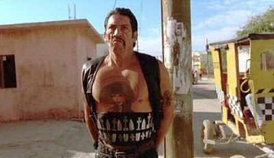 """Danny Trejo en""""Desperado"""" (Robert Rodriguez, 1995)"""