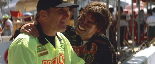 "Robert Duvall y Tom Cruise en ""Días de Trueno"" (""Days of Thunder"", 1990)"