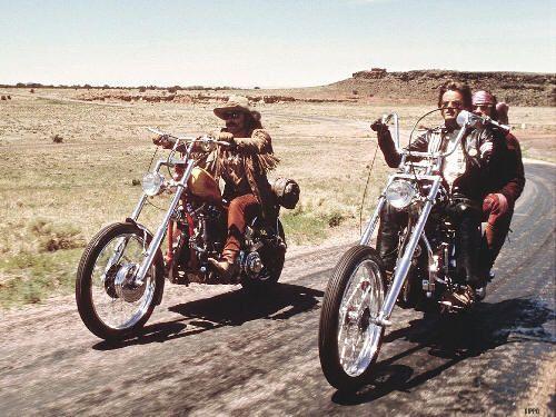 """Fotograma de """"Easy Rider"""""""