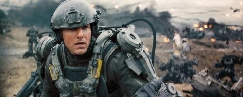 "Tom Cruise en ""Al Filo Del Mañana"" (""Edge Of Tomorrow"", 2014)"