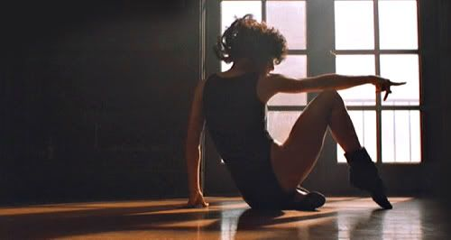 "Jennifer Beals en ""Flashdance"" (1983)"