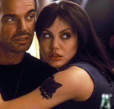 "Billy Bob Thornton y Angelina Jolie en ""Fuera de Control"" (""Pushing Tin"", 1999)"