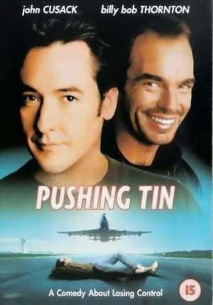 "Cartel de ""Fuera de Control"" (""Pushing Tin"", 1999)"