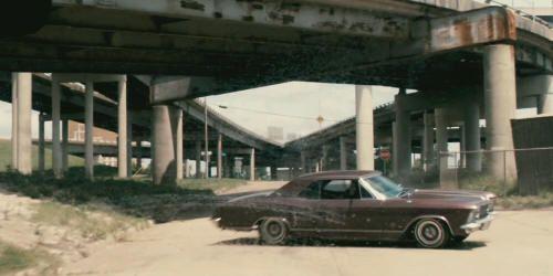 "Buick Riviera 1963 en ""Furia Ciega"" (""Drive Angry"", 2011)"