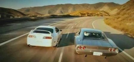 "Dodge Charger 1968 en ""Furious 7"" (2015)"