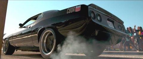 "Plymouth Cuda de 1972 en ""Furious 7"" (2015)"