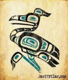 La garza. Mitología del noroeste de los Estados Unidos.