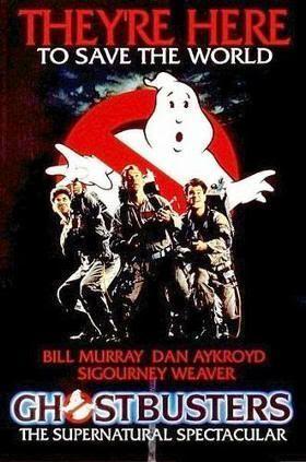 """Cartel de """"LosCazafantasmas"""" (""""Ghostbusters"""")"""