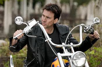 """Nicoals Cage es """"El Mototorista Fantasma"""" (""""Ghost Rider"""", 2007)"""
