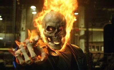 """""""El Mototorista Fantasma"""" (""""Ghost Rider"""", 2007)"""