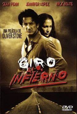 "Cartel de ""Giro al Infierno"" (""U Turn"", 1997)"